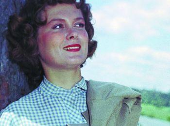 Звезда советского кино Изольда Извицкая. 1961
