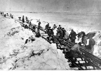 заключенные на строительстве железной дороги салехард–игарка