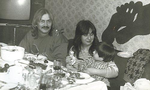Владимир Белоусов и Татьяна Анциферова